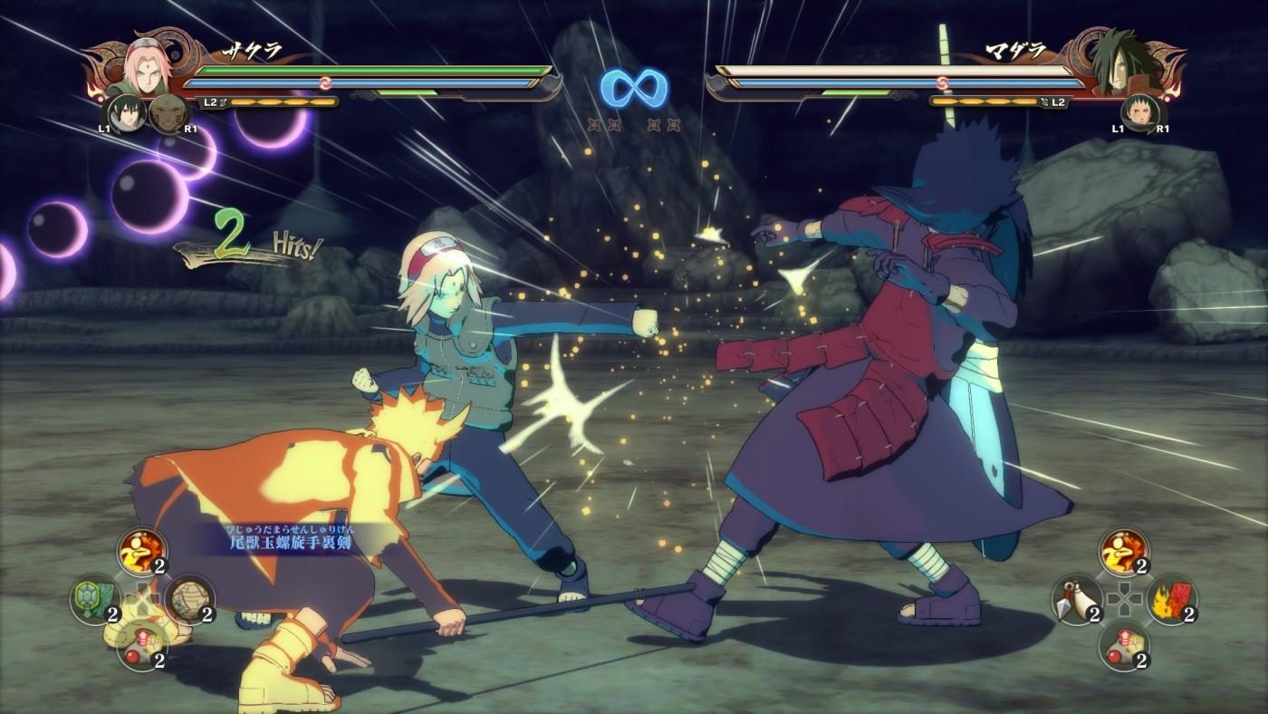 Naruto Shippuden Ultimate Ninja Storm review fight