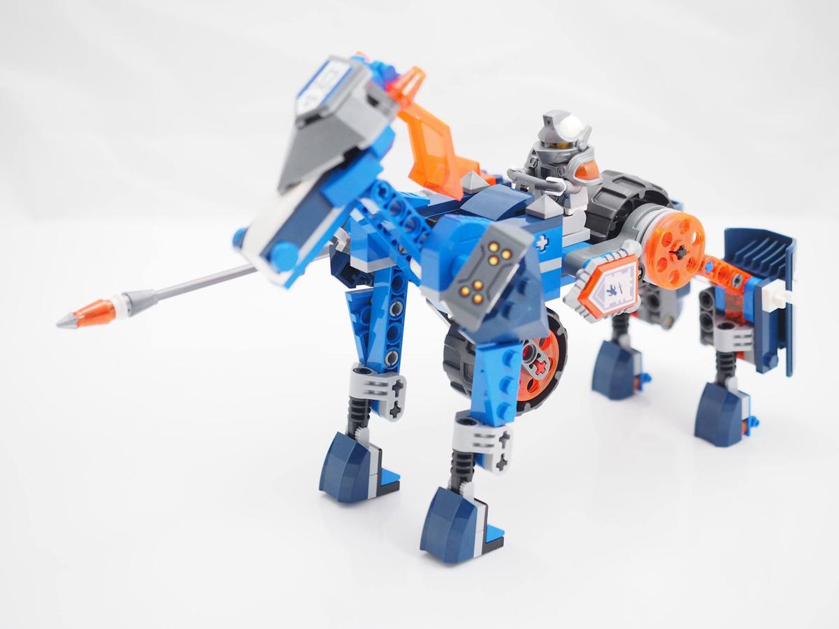 LEGO Nexo Knights Lance's Mecha Horse 70312 (4)