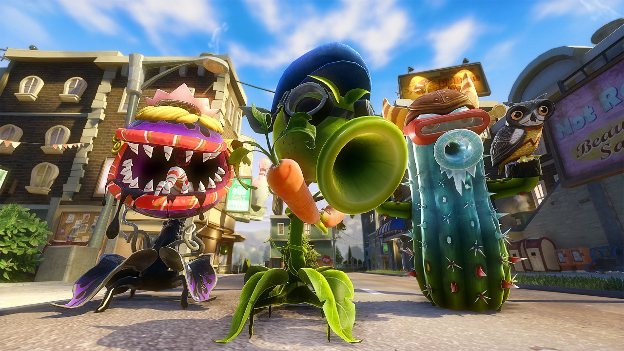 Plants Vs Zombies Garden Warfare 2 On Ps4 Official Station