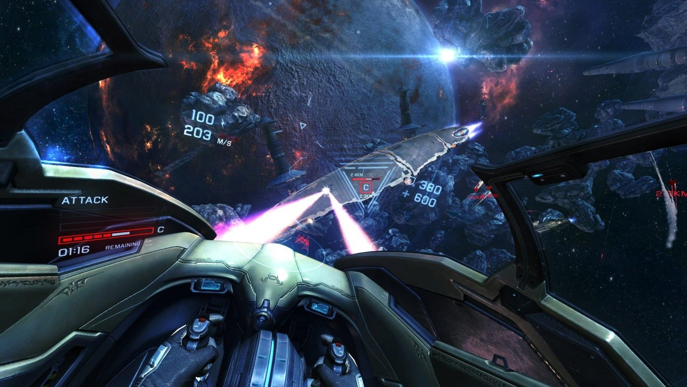 EVE: Valkyrie for the HTC Vive
