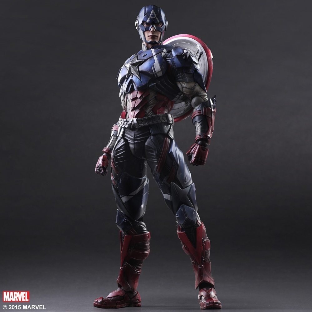 play arts kai Captain America (1)