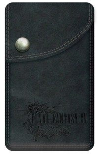 FINAL FANTASY XV leather pouch