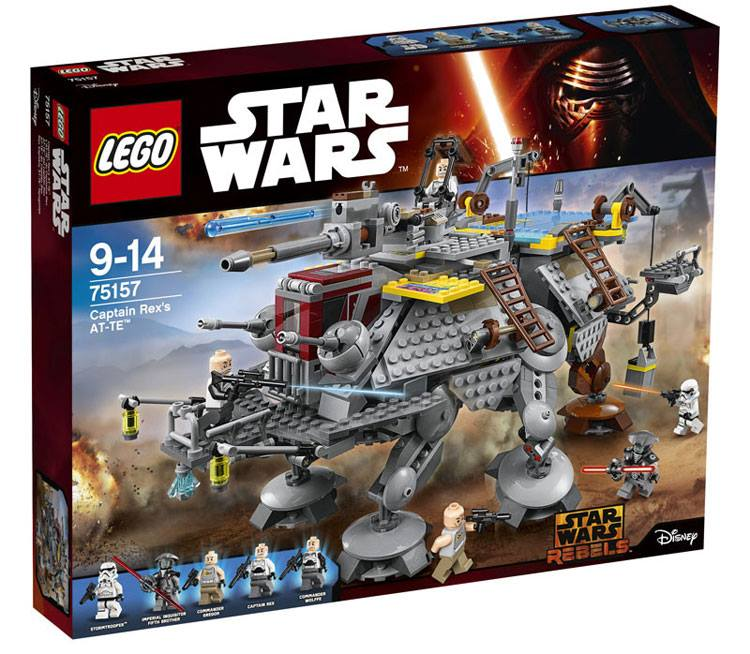 75157 captain Rex's at-te box