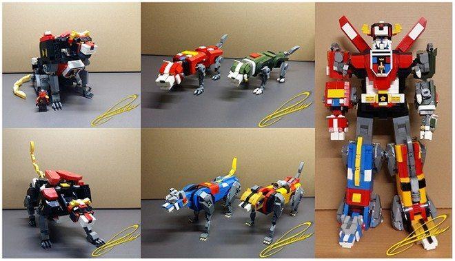 LEGO Voltron ideas (1)