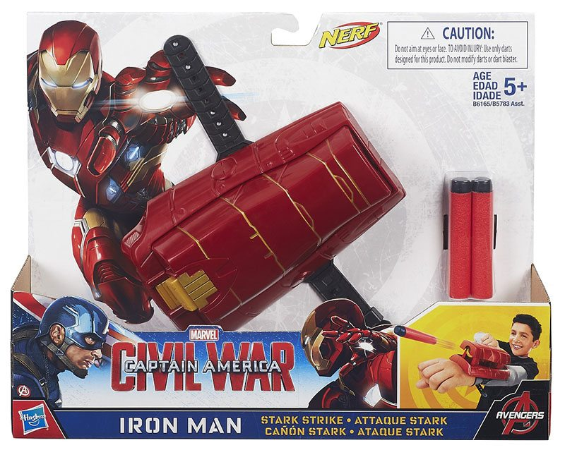 Civil War Iron Man's Stark Strike