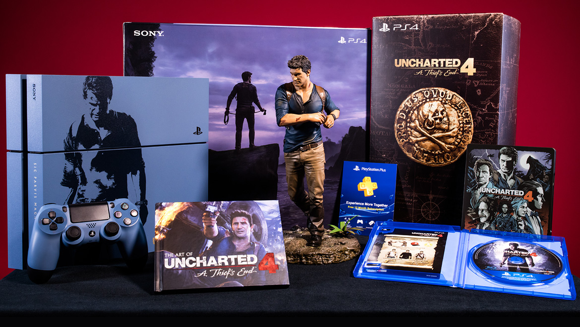 Unboxing the Uncharted 4 PS4 and Libertalia Collector's ...