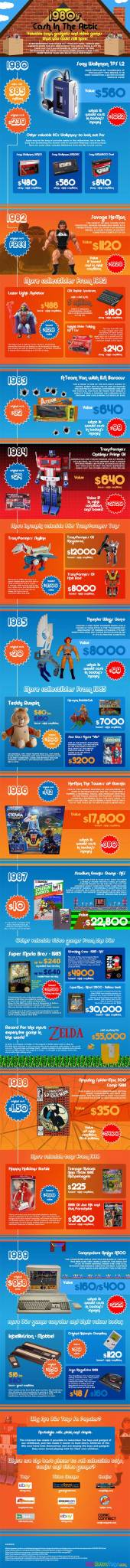 value of old toys infographic