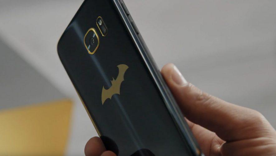 The Samsung Galaxy S7 edge Batman Inspired Phone is Real