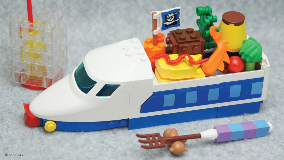 Lego Toy Food : Japanese master builder creates incredible looking food