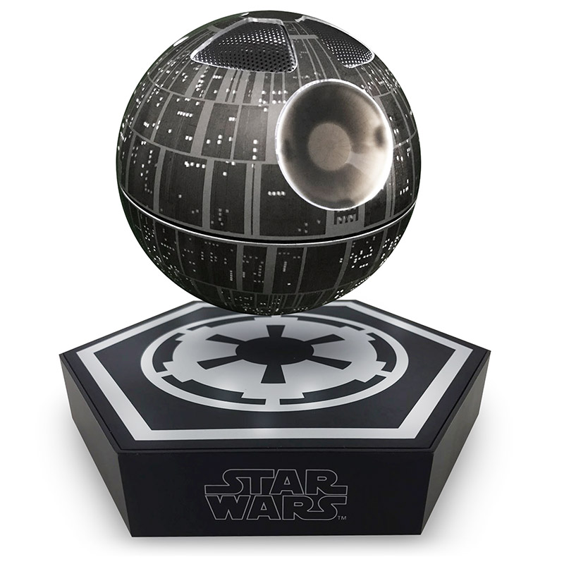 star wars death star levitating speaker geek culture. Black Bedroom Furniture Sets. Home Design Ideas