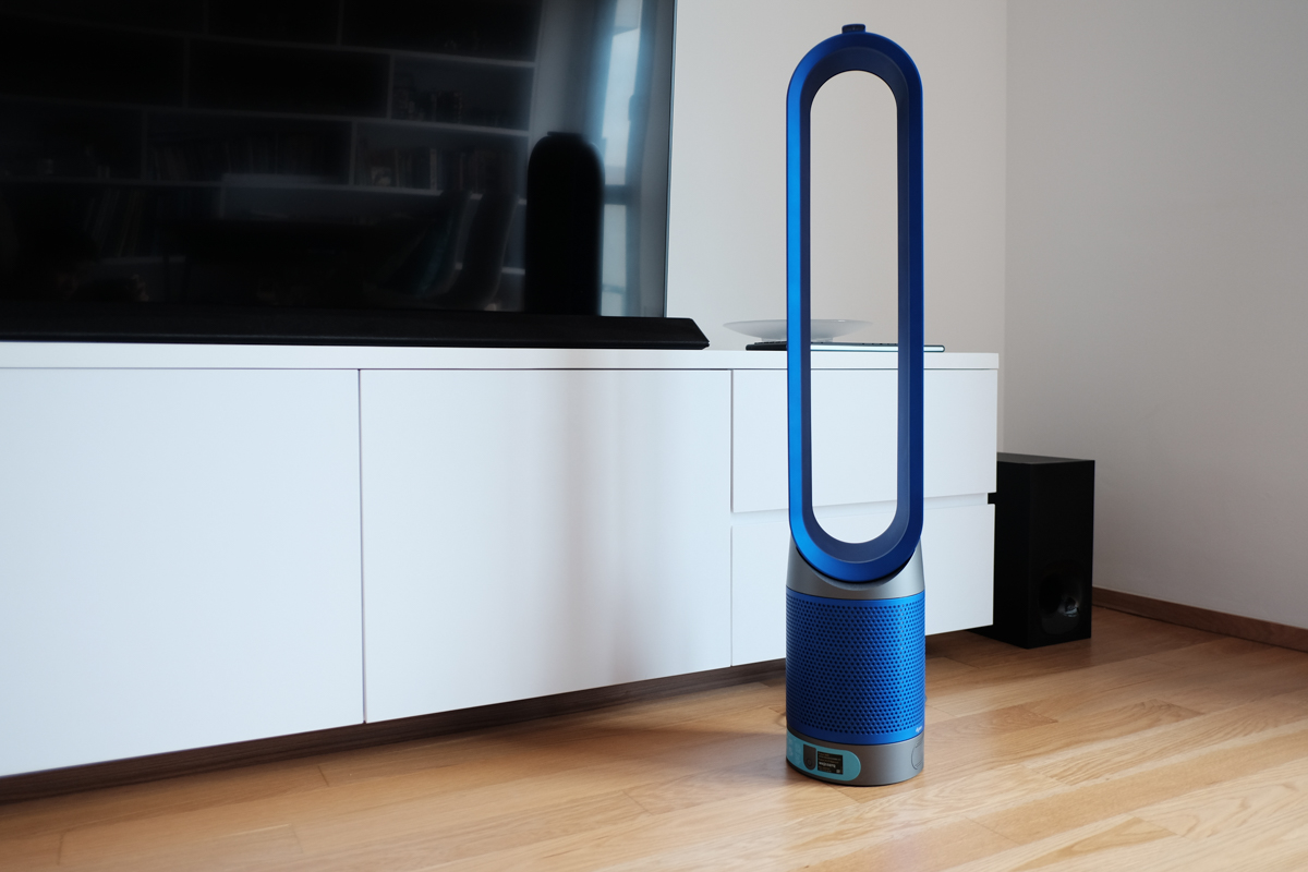 Geek Review Dyson Pure Cool Link Air Purifier Geek Culture