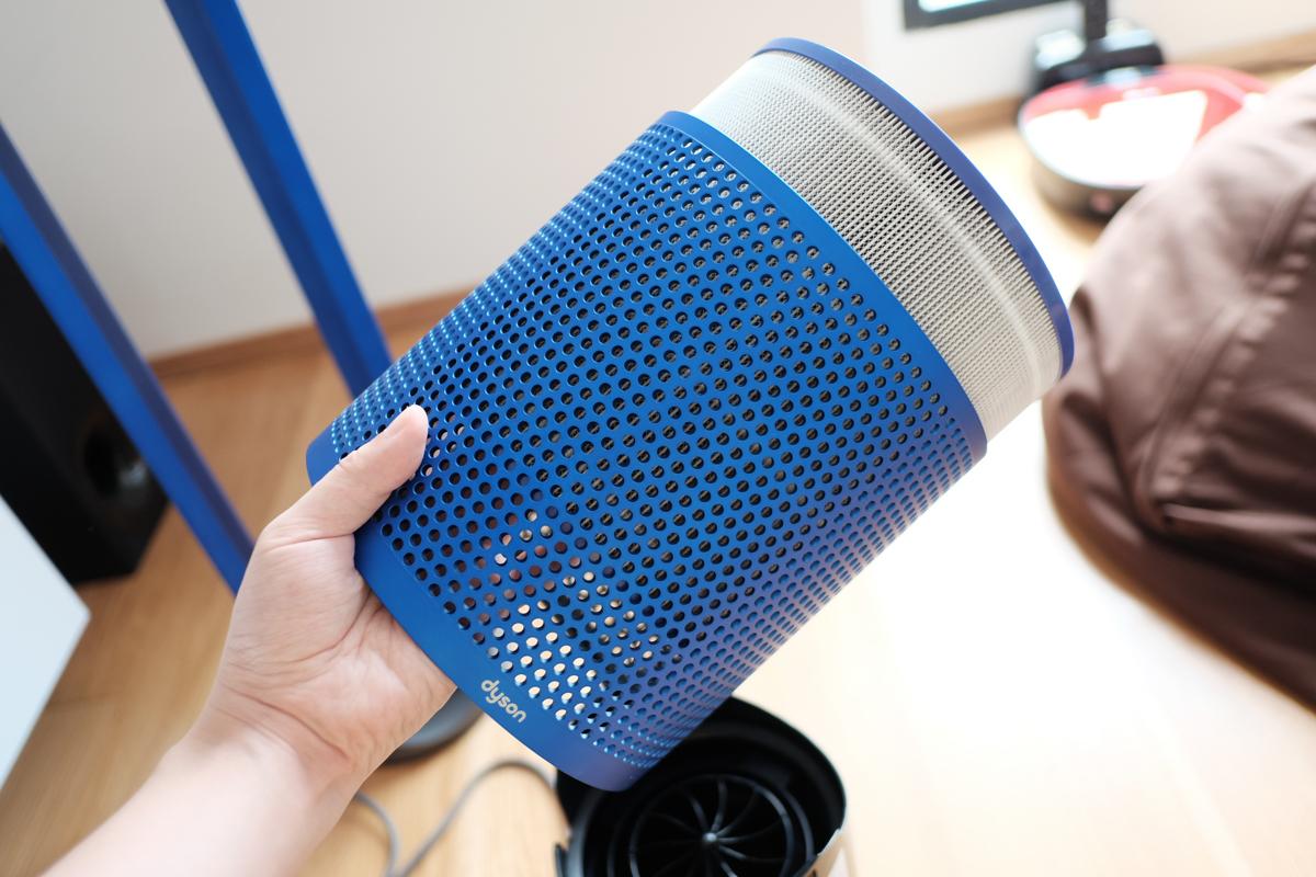 Geek Review Dyson Pure Cool Link Air Purifier Geek Culture