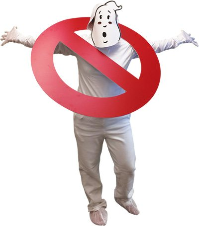"A ""No-Ghost"" costume will be provided to all participants"