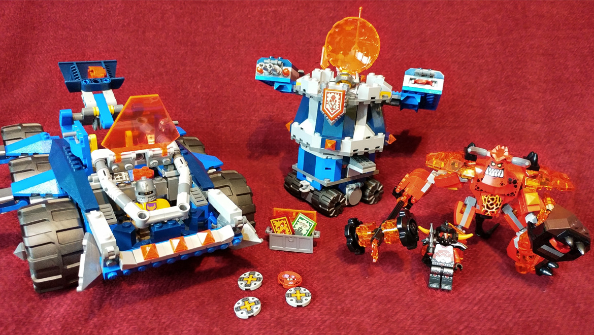 Geek Review: LEGO Nexo Knights Axl's Tower Carrier 70322 + Giveaway