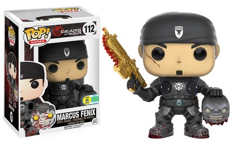 Pop! Games: Gears of War - Marcus Fenix with Head (Golden Lancer variant)