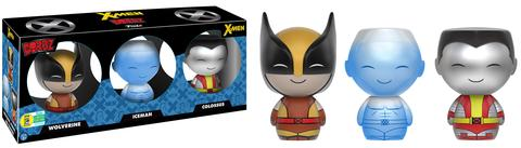 Dorbz: X-men 3-pack - Wolverine, Ice-Man & Colossus