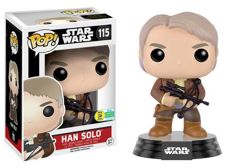 Pop! Star Wars: The Force Awakens - Han Solo with Chewie Bowcaster