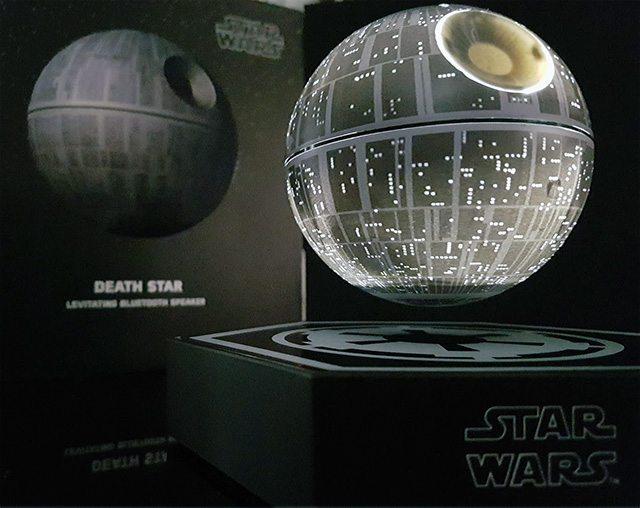 Geek Review Star Wars Death Star Levitating Speaker