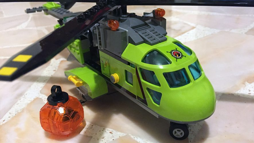 Geek Review Lego City Volcano Supply Helicopter 60123 Geek Culture