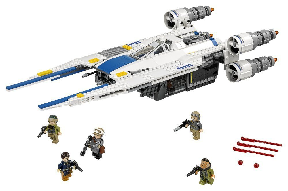 Rebel U-Wing Fighter (75155) contents
