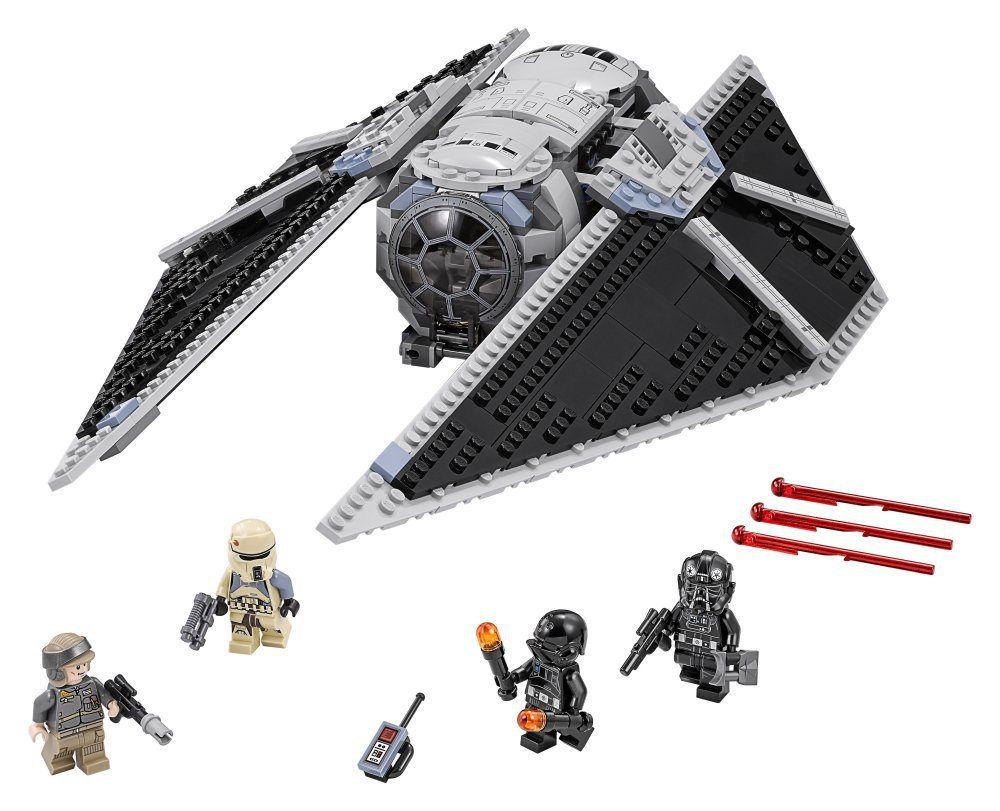 TIE Striker (75154) contents