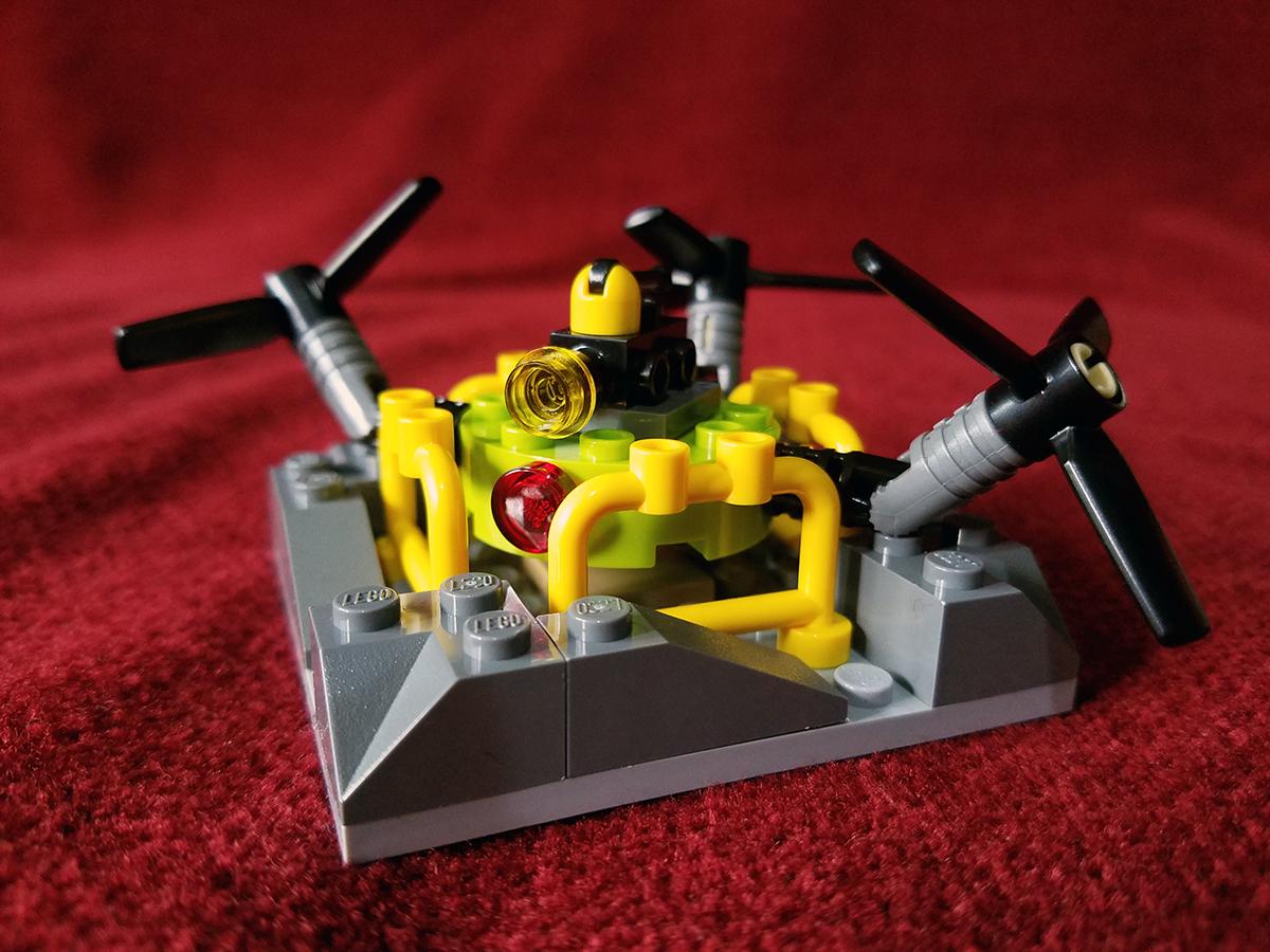 Geek Review: LEGO City Volcano Exploration Base 60124 ...