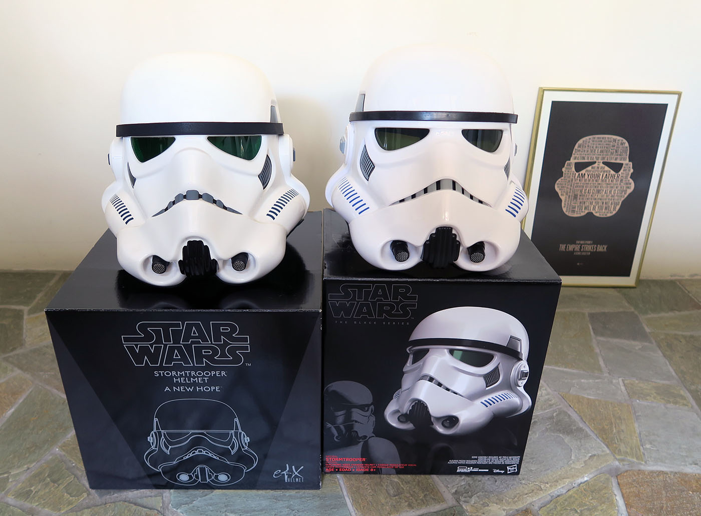 Star Wars Rogue One Black Series Stormtrooper Voice Changer Helmet