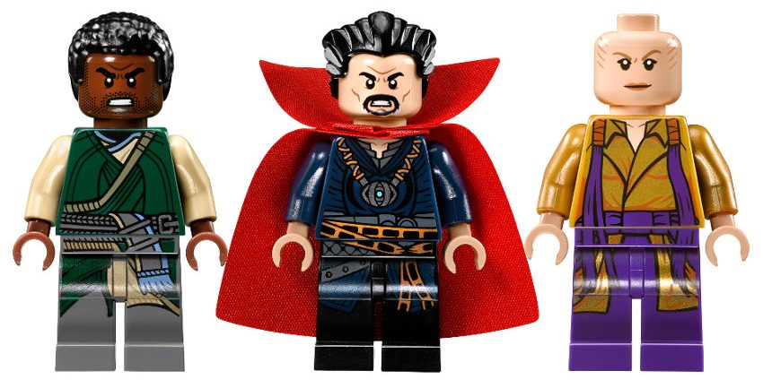 Karl Mordo, Doctor Strange and The Ancient One LEGO minifigures