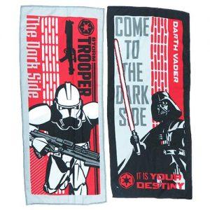 Star Wars Microfiber Towel - Dark Side Set