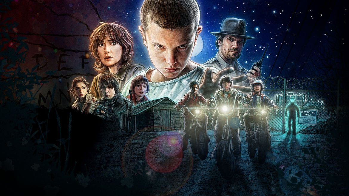 Stranger Things Gets An 80s Style Adventure Game Makeover