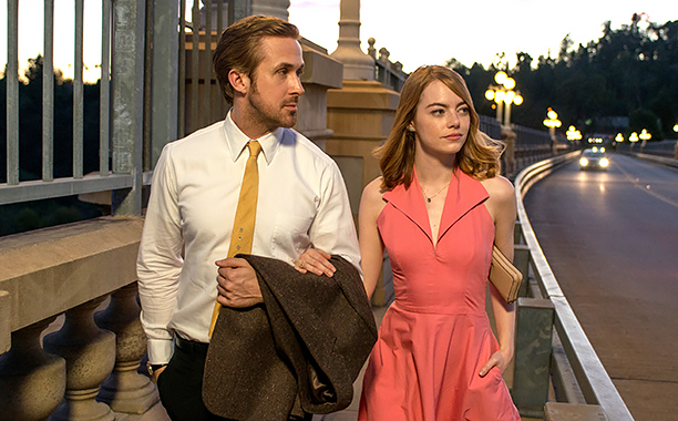 La La Land (2016) Sebastian (Ryan Gosling) and Mia (Emma Stone)