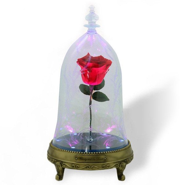 Beauty and the Beast Enchanted Rose Bluetooth Speaker ...