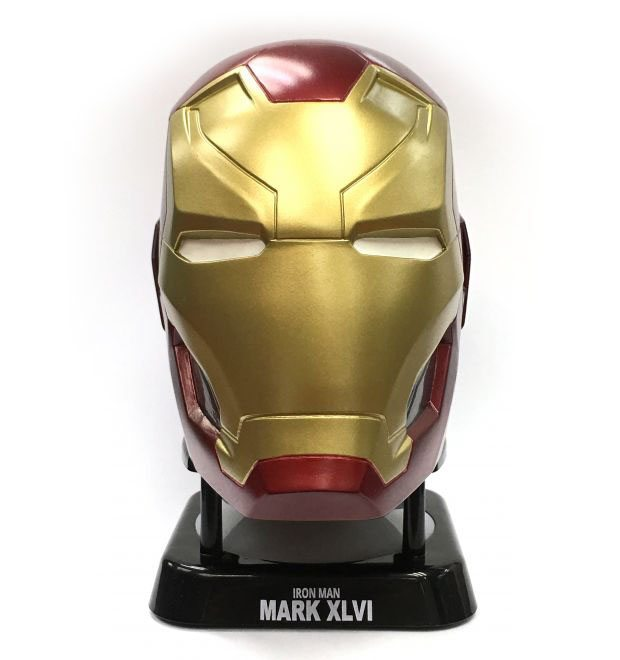 Marvel iron man mark 46 helmet mini bluetooth speaker - Mini iron man ...