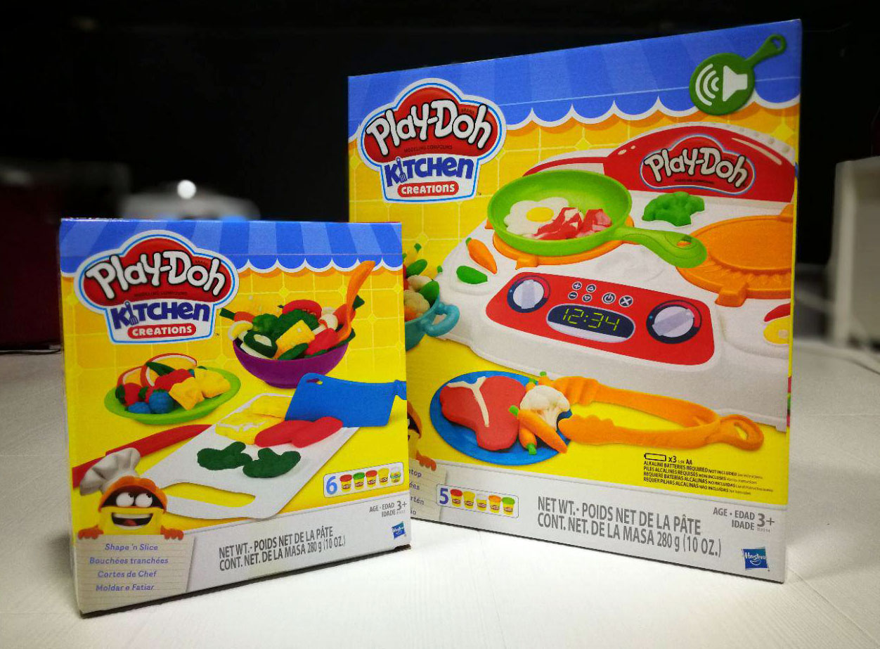 Making Realistic Looking Food With Play Doh Kitchen