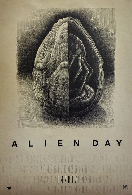 Exclusive Alien Day Commemorative Poster