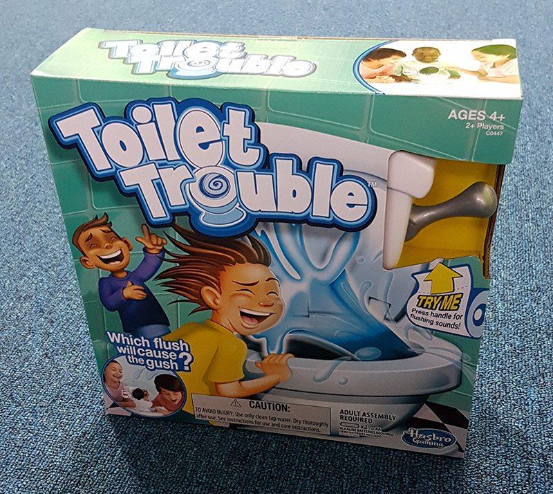 Geek Review Hasbros Toilet Trouble Game Geek Culture