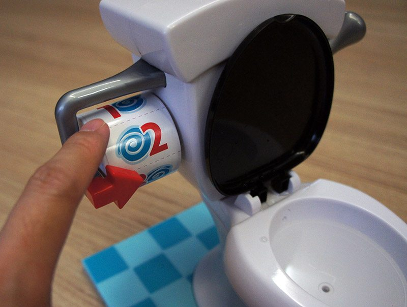Toy Toilet Flushing Sound : Geek review hasbro s toilet trouble game culture