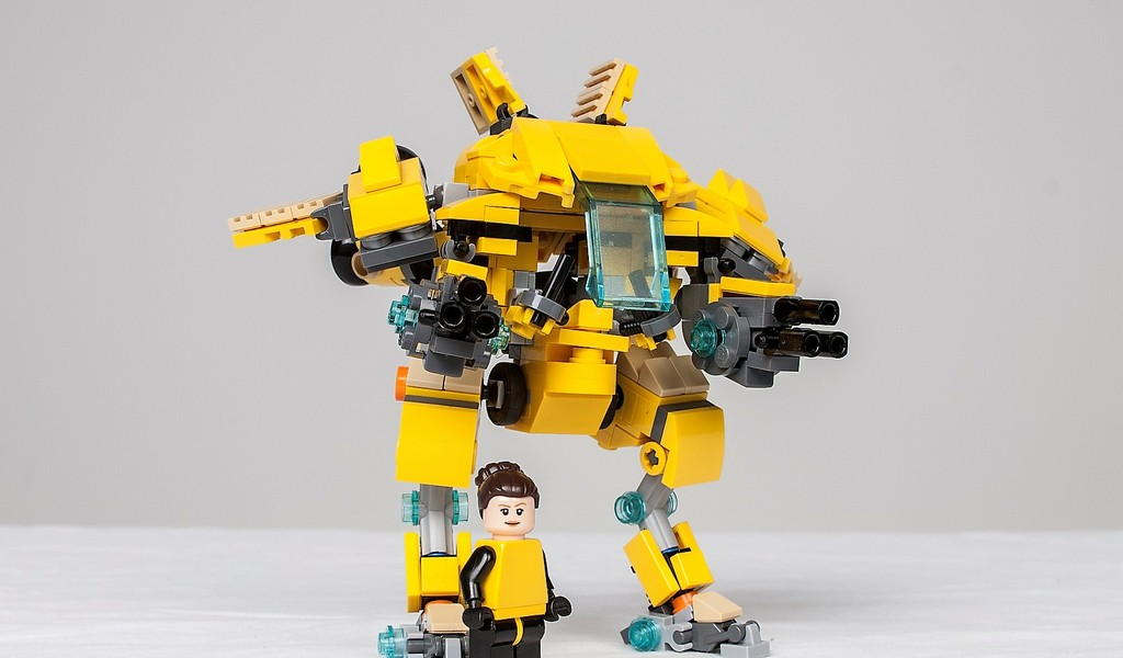 Why Wait? Build Your Own Overwatch D Va Mech with LEGO Now