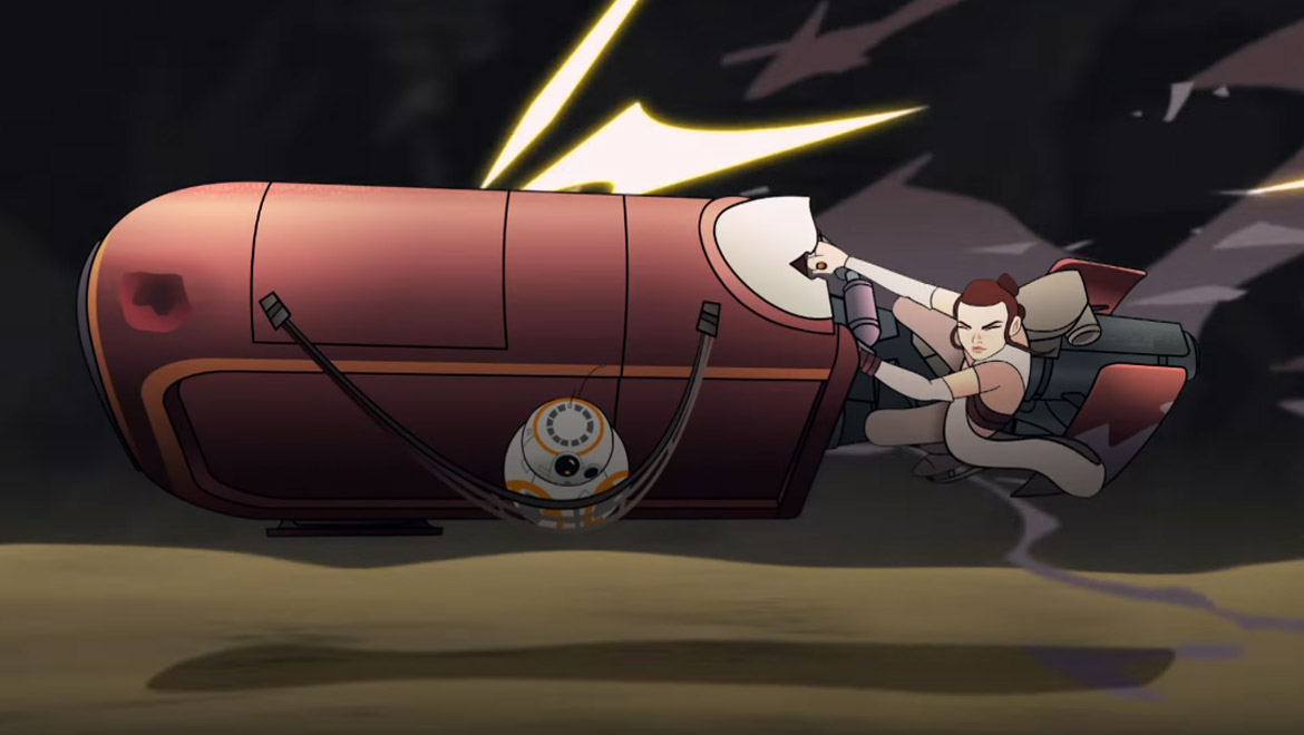 Star Wars Forces of Destiny Debuts July 3rd on YouTube | Geek Culture