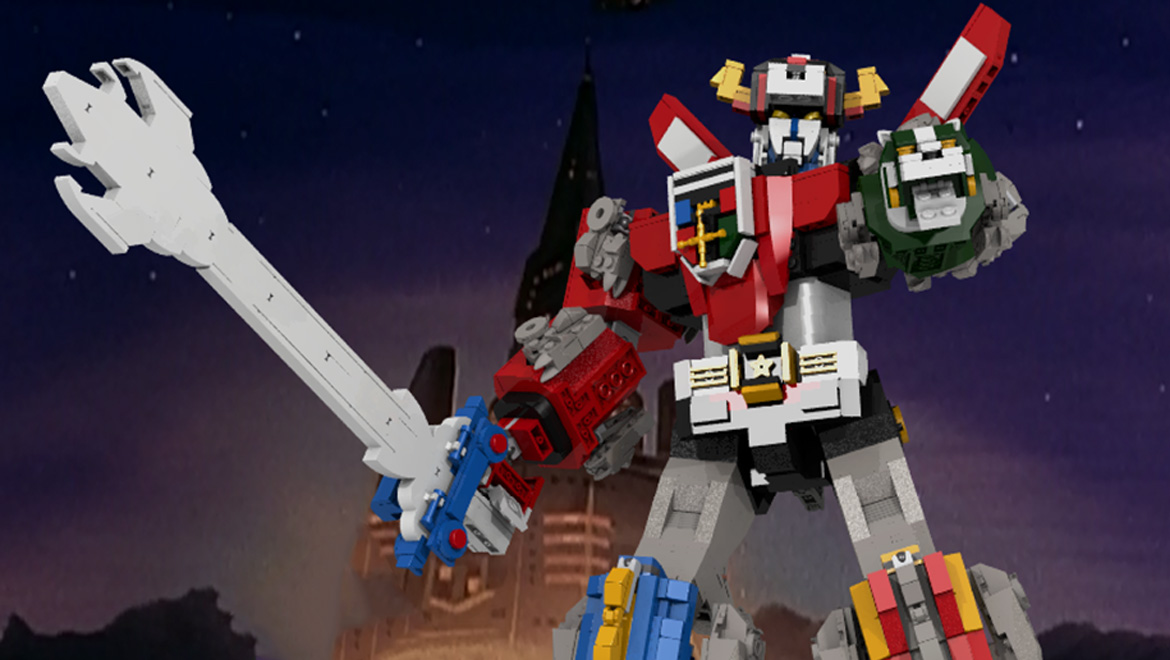 LEGO Voltron is the next LEGO Ideas Set; Ready in 2018! | Geek Culture