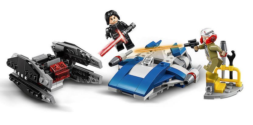 First Glimpse Of Lego Star Wars 2018 Sets Geek Culture