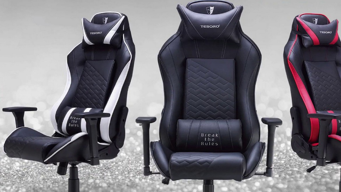 Geek Review: Tesoro Zone Balance Gaming Chair