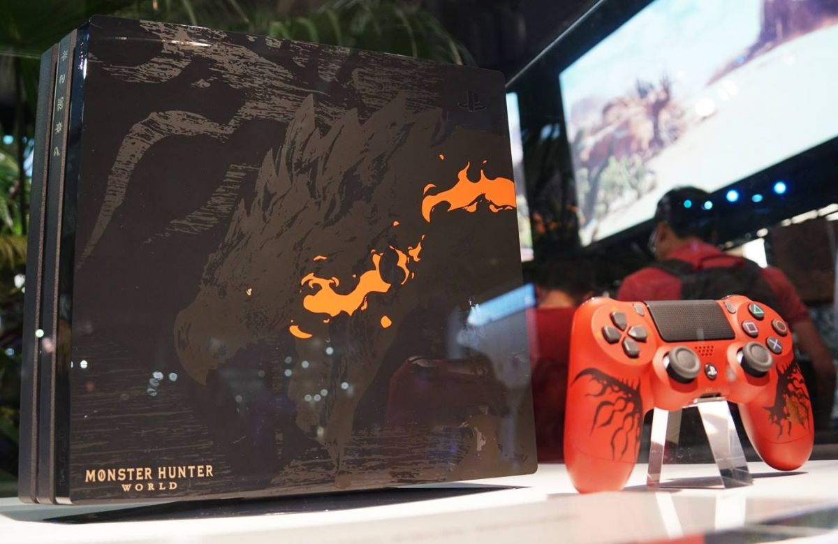 Here's The Price Of The New PlayStation 4 Pro Monster Hunter