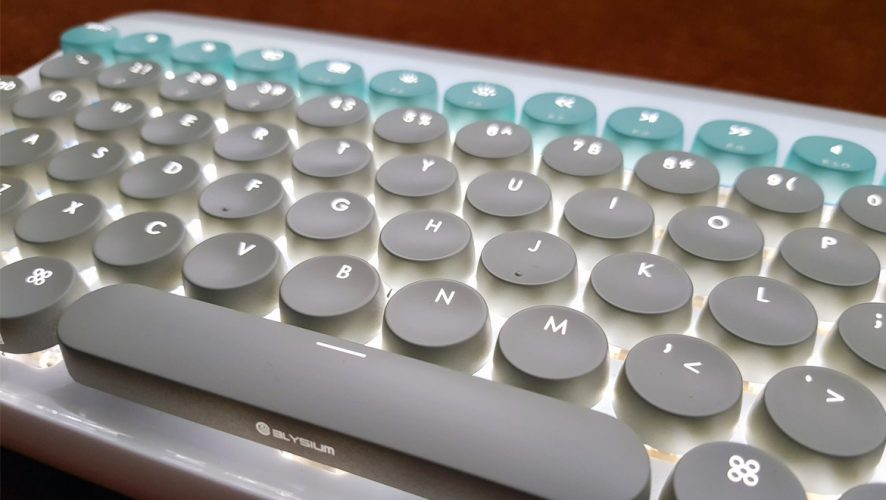 7655191cf03 Geek Review: ELYSIUM DOT by lofree Mechanical Keyboard | Geek Culture