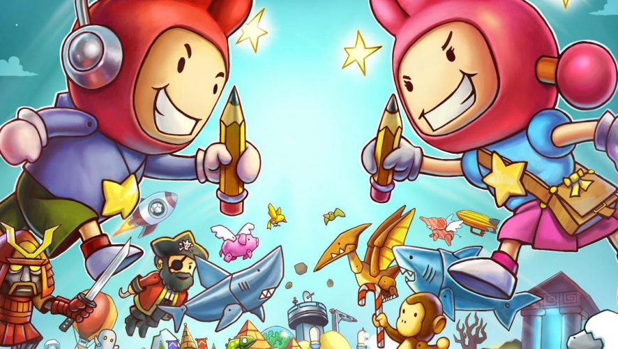Ready, Set, Party with Scribblenauts Showdown in March 2018