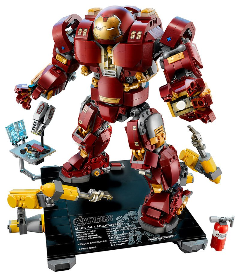 Get First Dibs on Marvel LEGO at the LEGO Avengers ...