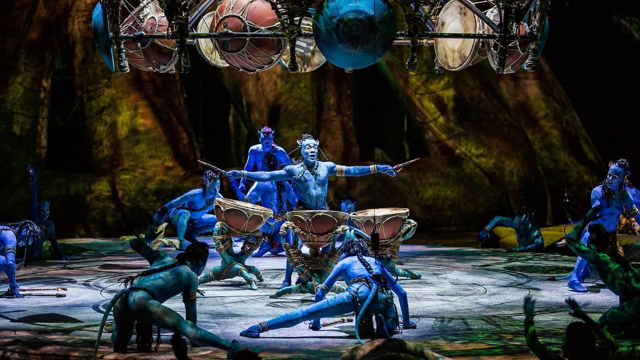 Cirque du Soleil Brings Avatar-Inspired Performance to