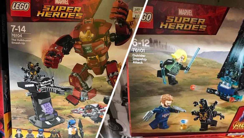 Lego marvel superheroes infinity war sets leaked in singapore lego marvel superheroes infinity war sets leaked in singapore voltagebd Choice Image