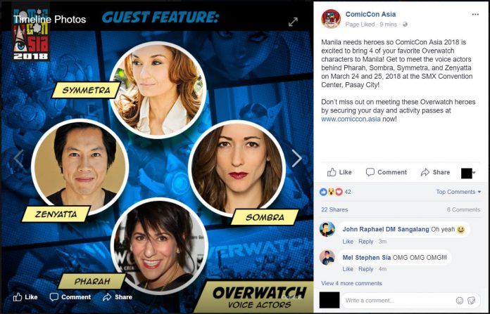 CONFIRMED: Overwatch Voice Actors Making Their Way To