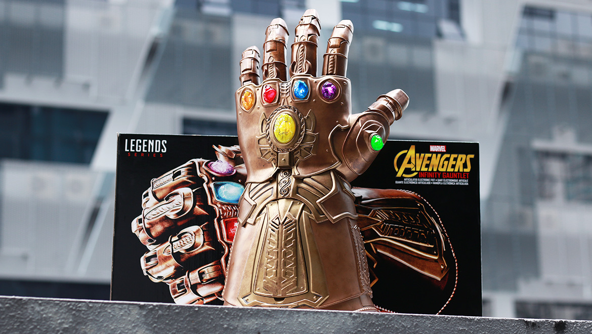Geek Review Hasbro Marvel Legends Infinity Gauntlet